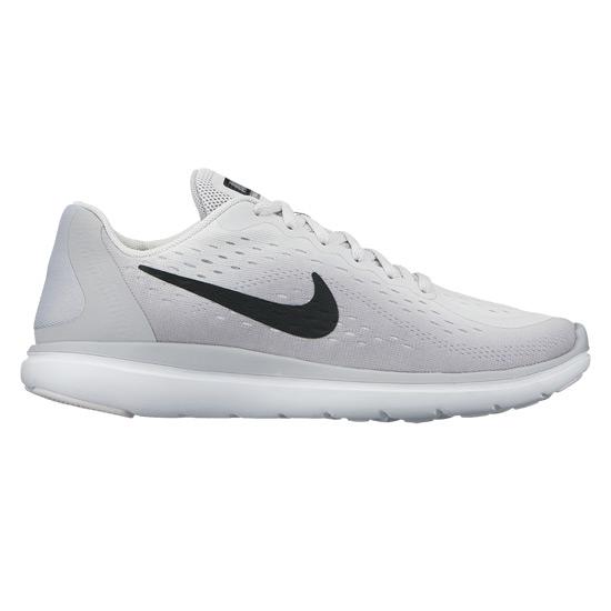 c57d2d234261d Nike Flex 2017 RN GS Junior Running Shoes (Pure Platinum)