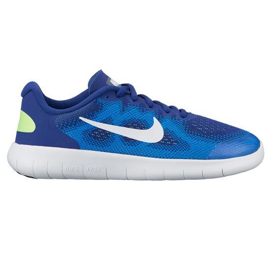 brand new 27672 6c67c Nike Free RN 2 GS Junior Running Shoes (Blue) | Direct Running