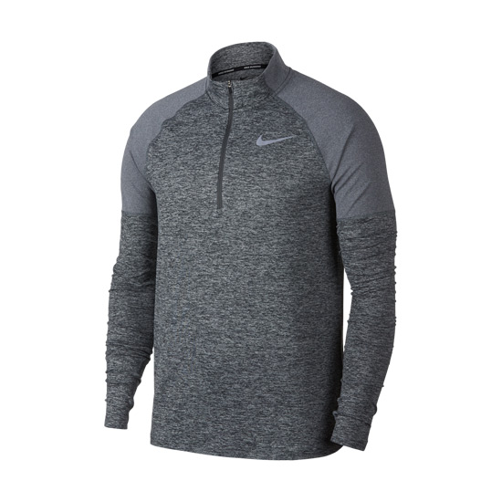 6788b9f40 Nike Element Half Zip Mens Top 2.0 (Dark Grey)   Direct Running