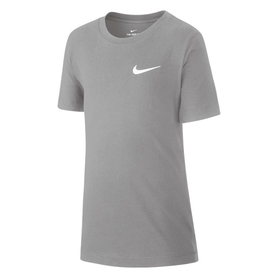 Nike Boys Emblem T-Shirt (Grey)