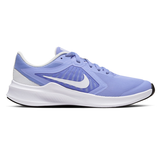Nike Downshifter 10 Junior Running Shoes (Light Thistle-White-Phonton Dust-Black)