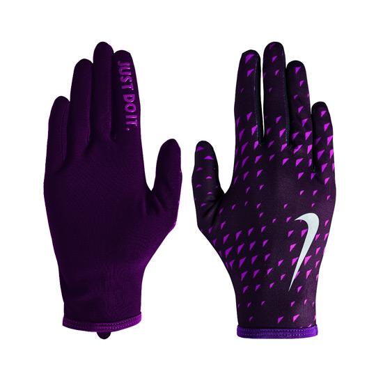 Nike Lightweight Rival Run Womens Gloves 2.0 (Port Wine Bold Berry)   Direct Running