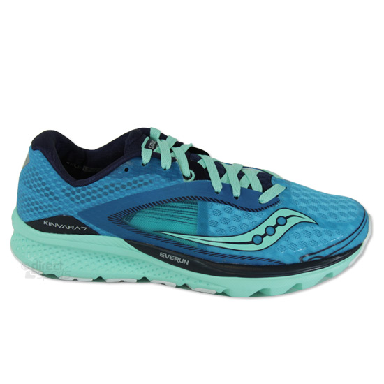 802a873ba61a5 Saucony Kinvara 7 Womens Running Shoes (Teal-Navy-Silver)   Direct Running