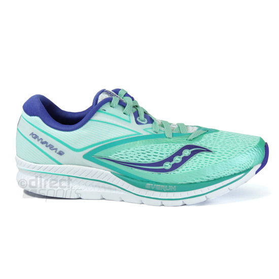 saucony Kinvara 9 Shoes Women aquawhite