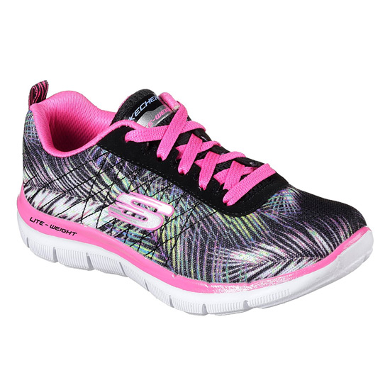 aedeff0130f7d Skechers Skech Appeal 2.0 Tropical Breeze Junior Shoes | Direct Running