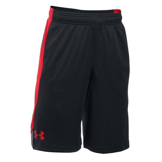 Under Armour Boys Eliminator Short (Black-Reds)