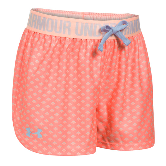 Under Armour Play Up Girls Short (London Orange)