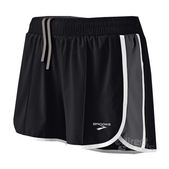 Brooks Epiphany Stretch Womens Running Shorts (Black)  faf3f9a2f0