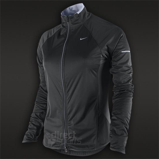 624159d0c330 Nike Element Shield Full Zip Womens Jacket (Black)