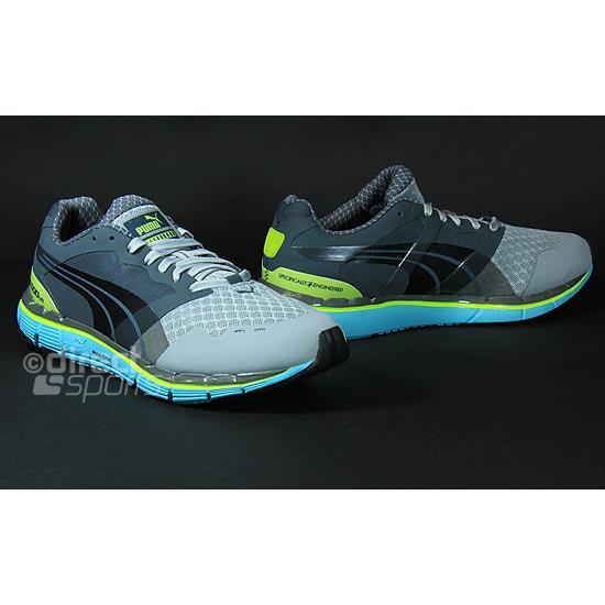 ff302c2f84c5 Puma FAAS 500 V2 Womens Running Shoes (Grey-Blue)