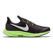 22e508c095f8 Nike Air Zoom Pegasus 35 Junior Running Shoes (Black- Lime Blast)