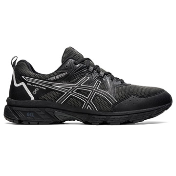 Asics Gel Venture 8 Mens Running Shoes (Black/White)
