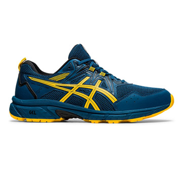 Asics Gel Venture 8 Mens Running Shoes (Mako Blue-Saffron)