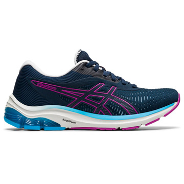 Asics Gel Pulse 12 Womens Running Shoes (French Blue/Digital Grape)