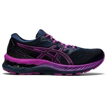 Asics Gel Nimbus 23 Lite-Show Womens Running Shoes (French Blue/Lite-Show)