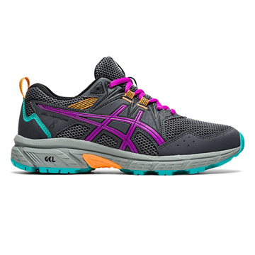 Asics Gel Venture 8 GS Junior Running Shoes (Carrier Grey-Orchid)