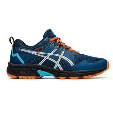 Asics Gel Venture 8 GS Junior Running Shoes (Mako Blue-Piedmont Grey)
