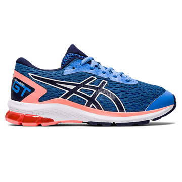 Asics GT 1000 9 GS Junior Running Shoes (Blue Coast)