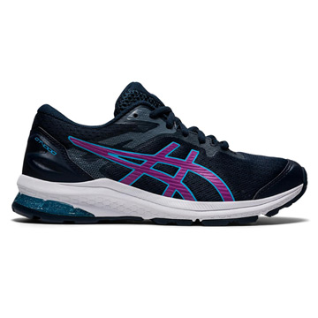 Asics GT 1000 10 GS Junior Running Shoes (French Blue/Digital Grape)