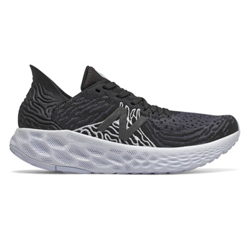 New Balance Fresh Foam W1080 v10 (D Width) Womens Running Shoes (Black-Outerspace)