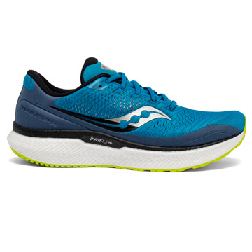 Saucony Triumph 18 Mens Running Shoes (Cobalt/Storm)