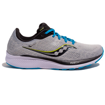 Saucony Guide 14 Mens Running Shoes (Alloy/Cobalt)