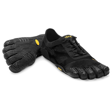 Vibram Fivefingers KSO EVO Womens Running Shoes (Black)