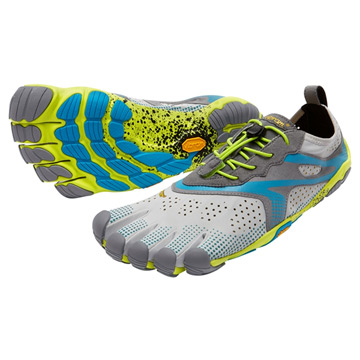 Vibram Fivefingers V-Run Mens Running Shoes (Oyster)